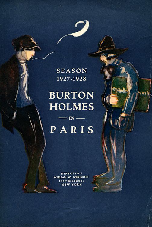Program for Burton Holmes Lecture Series, 35th year, 1927-28